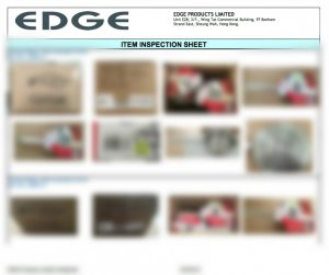 INSPECTION REPORT - EDGE PRODUCTS LIMITED P3