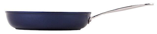 26cm Forged Non Stick Fry Pan With Stainless Steel Casting Handle – Blue