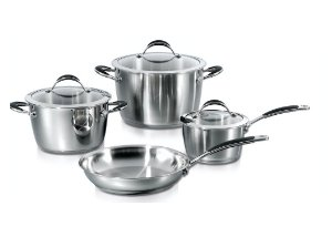 index 7pcs Prestige Stainless Steel Cookware Set - Cone Shape