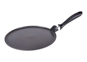 "index 10"" (25cm) Die Cast Aluminum Non Stick Pizza Pan With Bakelite Handle"